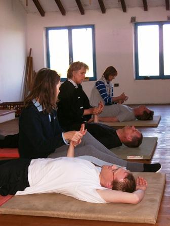 <br/>Shiatsu Handmassage