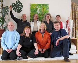TeilnehmerInnen der 2009 gestarteten Ausbildungsgruppe