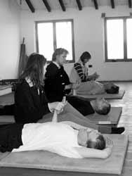 Massage - einer der  8 Fäden des Brokat