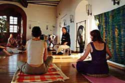 <br/>Beginn einer Gongmeditation